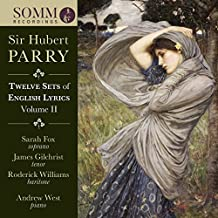 Parry English Lyrics, Vol. 2