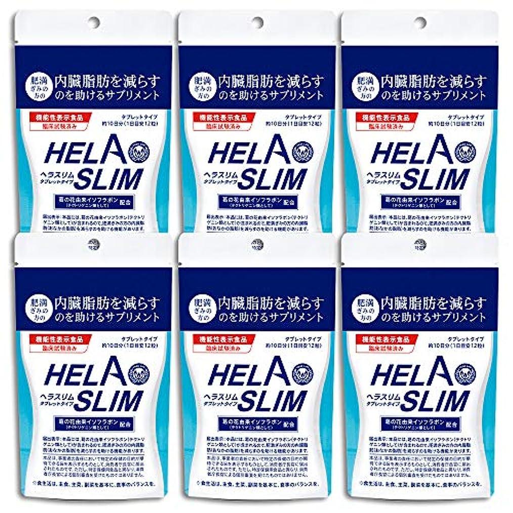 もっと少なく出発するブランチ【6袋セット】HELASLIM(120粒入り)アルミパック