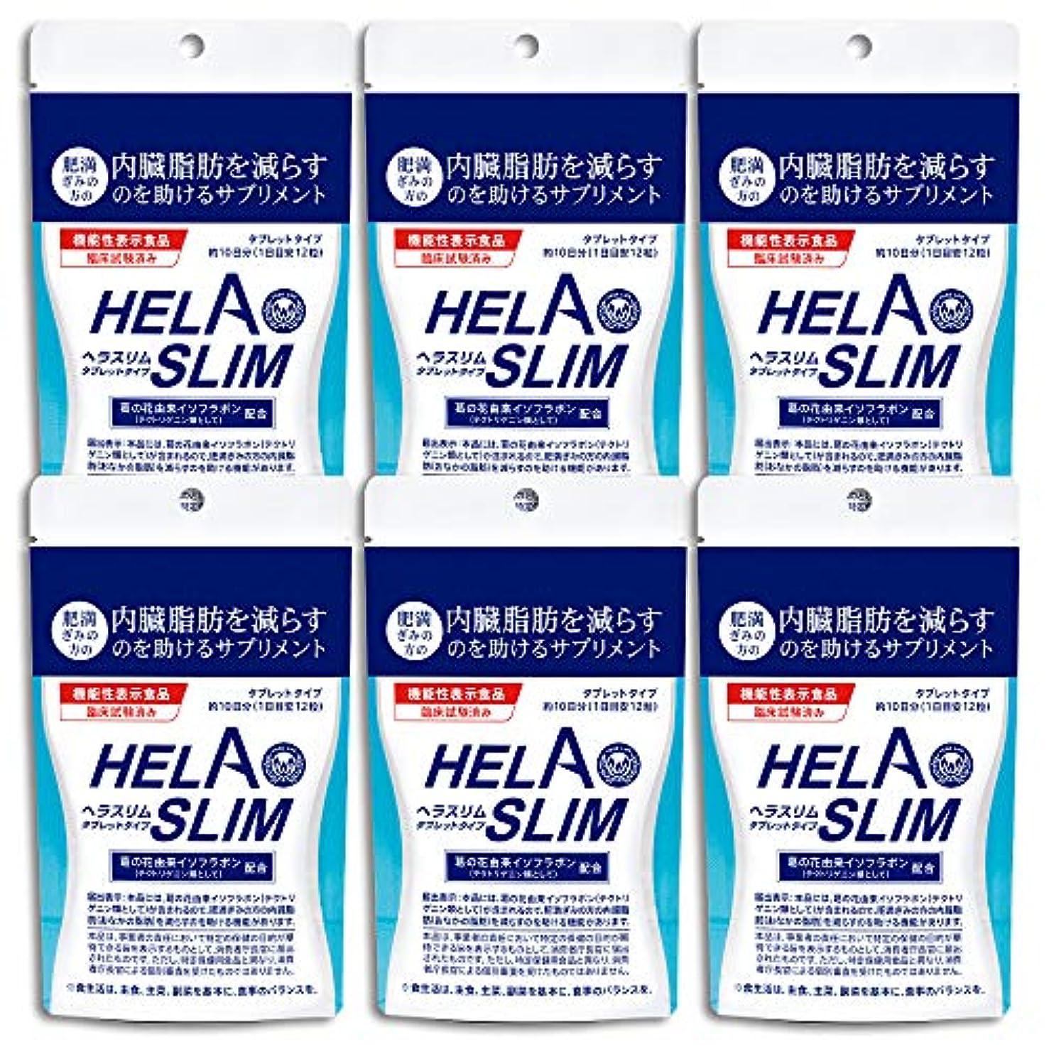 繁雑ブリリアントペイント【6袋セット】HELASLIM(120粒入り)アルミパック