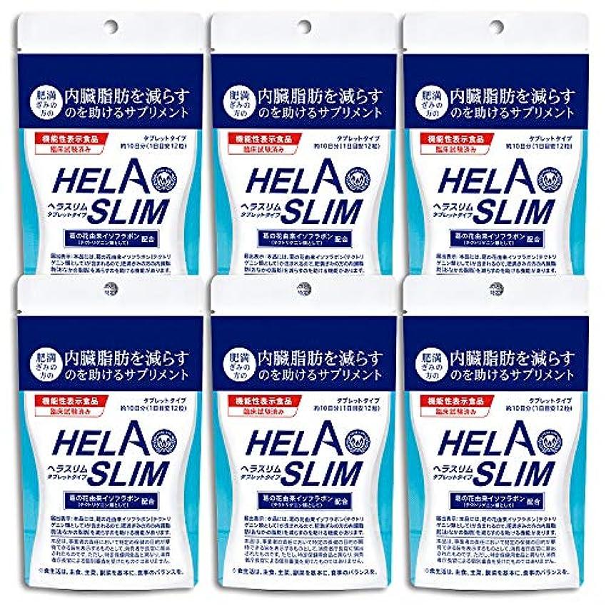 社会科観察するプレゼンテーション【6袋セット】HELASLIM(120粒入り)アルミパック