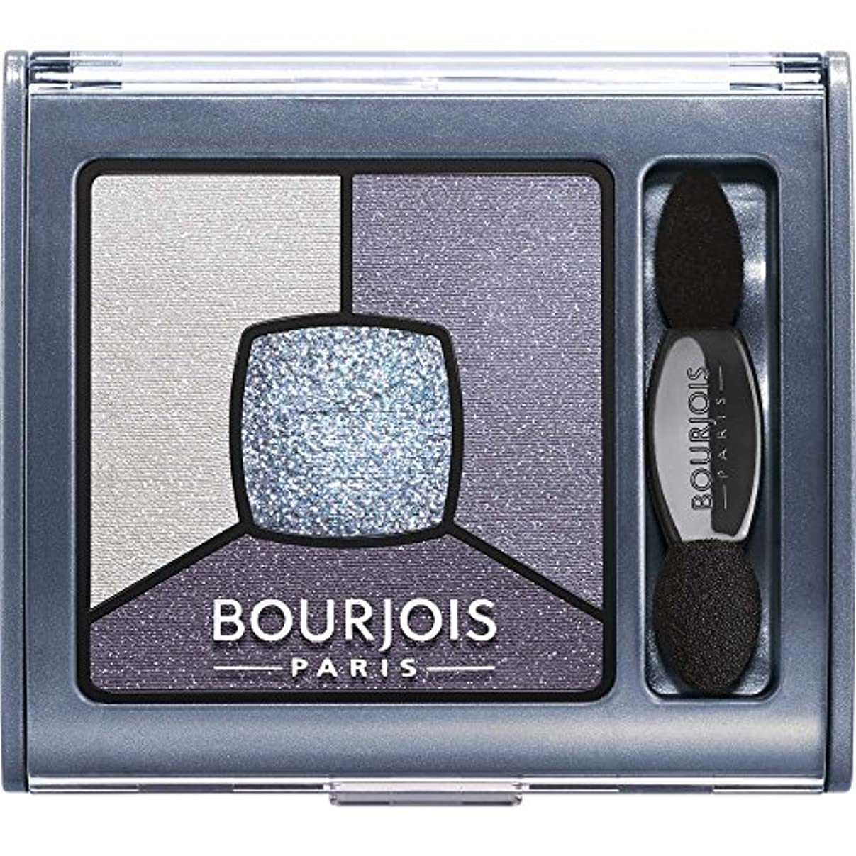 インターネット選択事業ブルジョワ Smoky Stories Quad Eyeshadow Palette - # 08 Ocean Obsession 3.2g/0.11oz