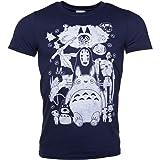 TruffleShuffle Mens Ghibli Gang T Shirt - Movie Tees