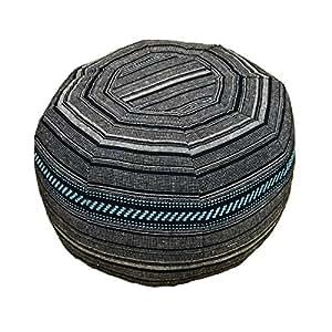 ☆Morocco pouf☆ モロッコ プフ 中綿入り 布タイプ クッション オットマン スツール モロカンスタイル