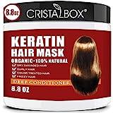 Keratin Hair Mask,2021 Deep Repair Damage Hair Root, 250ml Hair Mask for Dry Damaged Hair,Hair Treatment Mask Hair Tonic Kera