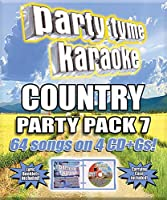 Party Tyme Karaoke: Country Party Pack 7 (Various Artists)