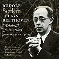 ベートーヴェン:1ピアノ・ソナタ第30番、2ディアベリの主題による33の変奏曲