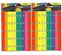 Chroma-Notes Stick-Ons Set of 2 [並行輸入品]