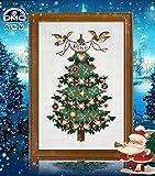 DMC クロスステッチキット 刺繍キット クリスマスイブ