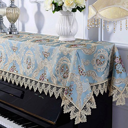 ピアノカバー アップライトおしゃれ 姫系 北欧 高? 上品 かわいい クラシック花柄 防塵 飾り 新築祝い 引越し祝い プレゼントunusual