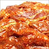 ラム肉 旨辛 味付き ジンギスカン 1kg (部位:ショルダー肉/肩肉) 辛いんだべさ
