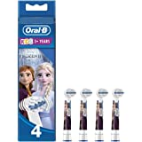 Oral-B Genuine Kids Replacement Toothbrush Heads, Pack of 4