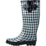Sunville New Women's Rubber Rain Boots, Available in Multiple Styles