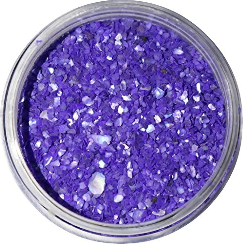 浮く進化するコンクリート【jewel】微粒子タイプ シェルパウダー 3g入り 12色から選択可能 (バイオレットブルー)