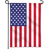 ANLEY [Garden Flag] USA United States Garden Flag - Vivid Color & UV Fade Resistant - Double Sided & Double Stitched - 12.5 x
