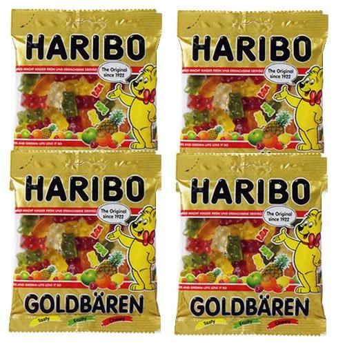 HARIBOハリボー ゴールドベア グミ 100g×4袋セット