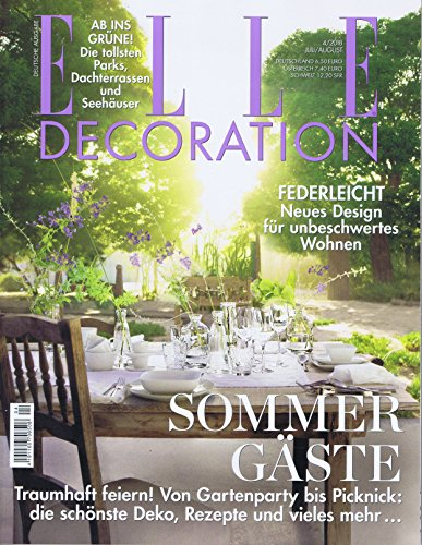 ELLE Decoration German Edition [DE] No. 4 2018 (単号)