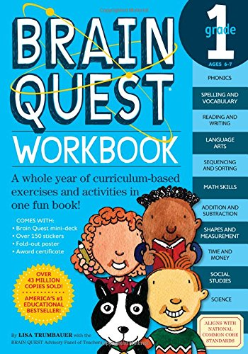 Brain Quest Workbook Grade 1 -