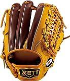 ZETT(ゼット) 野球 軟式 オールラウンド グラブ(グローブ) プロステイタス (左投げ用) BRGB30560 オークブラウン/チョコブラウン
