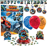Blaze and The Monster Machines Premium Birthday Party Pack Decoration Kit [並行輸入品]