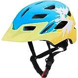 Goofly Kids Bike Helmets Lightweight Cycling Skating Sport Helmet with Safety Light for Boys Girls