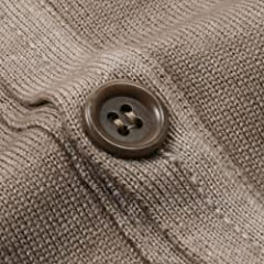 Garment Dyed V-neck Sweater Vest: Brown