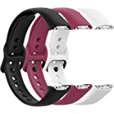 Fit for Samsung Galaxy Fit SM-R370 Bands, Adjustable Soft Silicone Watch Band Straps Wrist Bands Bracelet Fit Samsung Galaxy