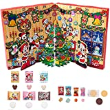 ディズニー クリスマス 2018 ( リゾート ) ADVENT CALENDAR箱 菓子詰め合わせ ミッキー ミニー 他 お菓子 チョコ 飴 リゾート限定