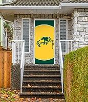 Victory Corps 36インチ x 80インチ フロントドア装飾 バナーサイン 壁画 ノースダコタ州バイソン - NDSU
