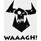 Warhammer 40K Orc Waaaghダイカットビニールデカールステッカー 6