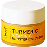 Sweet Chef Turmeric + Vitamin C Booster Eye Cream - Hydrating Turmeric Cream for Under Eyes, Dark Circles and Puffiness - Moi
