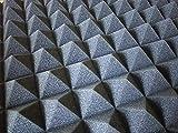 【 SMILE ALL 】 吸音 スポンジ 凹凸 ピラミッド型 加工 ウレタン 50cm × 50cm × 5cm 《 5枚セット 》 防音 対策 高性能 高品質 (5)