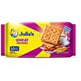Julie's Wheat Crackers Biscuits, 250g