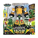 Tobot( トボッ ) アドベンチャー   3つの変身モード  Terracle  ADVENTURE Terracle Transforming in 3 Modes(Robot,Tank and Tractor) - 韓国アニメキャラクターロボット
