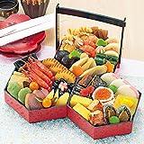 京菜味のむら おせち「八坂 」三段重 32品 (12月30日着)