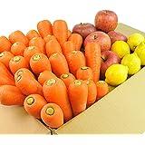 にんじん 野菜セット( にんじん3kg+りんご2kg+レモン500g)にんじん : 農薬・化学肥料不使用栽培 訳あり