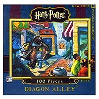 ニューヨークパズル会社–ハリーポッターDiagon Alley Mini–100ピースジグソーパズル