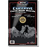 BCW 1-BBCUR Comic Book Backing Boards Current Comics (100 Boards Per Pack) Accessories