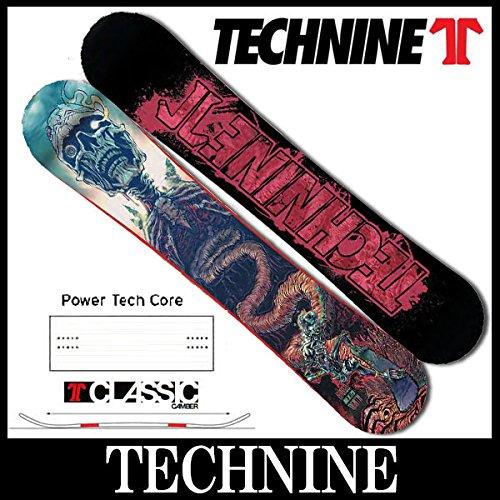 14-15 TECHNINE/テックナイン SHRED'TILL DEATH オールラウンド メンズ スノーボード 149.5