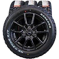 14インチ 4本セット タイヤ&ホイール NANKANG (ナンカン) FT-9 M/T 165/65R14 HOT STUFF G.speed 14×5.5J(+45) PCD100-4穴
