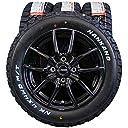 14インチ 4本セット タイヤ&ホイール NANKANG (ナンカン) FT-9 M/T 165/65R14 HOT STUFF G.speed 14×5.5J( 45)PCD100-4穴