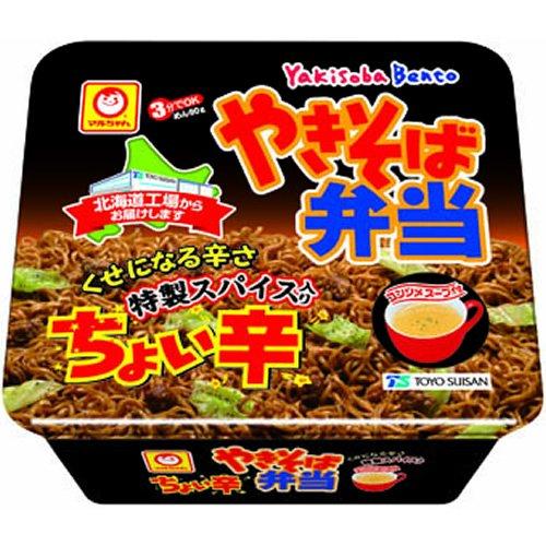 マルちゃん 北海道限定 やきそば弁当 ちょい辛 119g×12個
