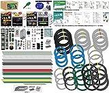 準備万端 (3回練習分) 平成29年度 第一種電気工事士技能試験練習用材料 「全10問分の器具・電線セット」