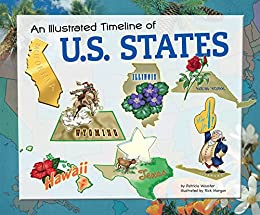 amazon co jp an illustrated timeline of u s states visual
