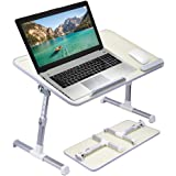 Avantree [Large Size] Neetto Height Adjustable Laptop Bed Desk, Portable Laptop Table Standing Desk, Sofa Breakfast Tray With