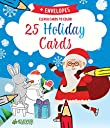 25 Holiday Cards (Clever Cards To Color)