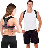 LIFEWAY Posture Corrector for Men & Women - Upper Back Brace for Spine & Clavicle Support - Relives Pain in Neck &...