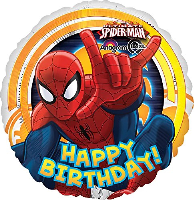 スパイダーマン 誕生日 43cm バルーン
