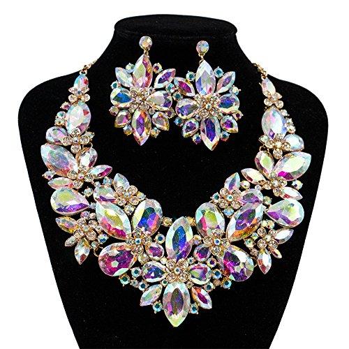 レディース女性ネックレス ファッションカラー6カラーネックレ...