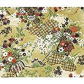 タカ印 和紙千代紙わらべ 緑水花車 31-2260 平判  10枚入