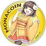 モナコインちゃんステッカーD (M)